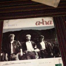 Discos de vinilo: A-HA. TAKE ON ME. SINGLE.. Lote 202868853