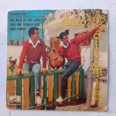 Discos de vinilo: DUO DINÁMICO. CON DEDICATORIA. QUISIERA SER... LA VOZ SU AMO 7EPL 13.643. 1961. FUNDA VG. DISCO VG+.. Lote 202883643