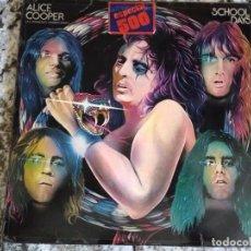 Disques de vinyle: ALICE COOPER. SCHOOL DAYS. LP DOBLE. WB SPAIN 73. Lote 202884041