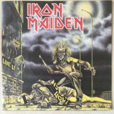 Discos de vinilo: IRON MAIDEN – SANCTUARY, UK 1980 EMI. Lote 202900230