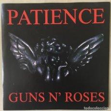 Discos de vinilo: GUNS N' ROSES – PATIENCE, UK 1989 GEFFEN RECORDS. Lote 202901040