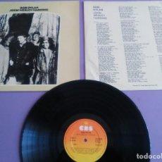 Discos de vinilo: LP. BOB DYLAN. JOHN WESLEY HARDING, SELLO CBS S 63252. AÑO 1970 + ENCARTE CON LETRAS.. Lote 202904043