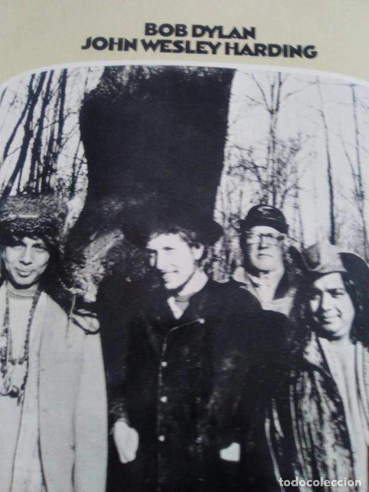 Discos de vinilo: LP. BOB DYLAN. JOHN WESLEY HARDING, SELLO CBS S 63252. AÑO 1970 + ENCARTE CON LETRAS. - Foto 4 - 202904043