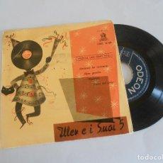 Discos de vinilo: ILLER E I SUOI 5 - ABRAMOS LAS VENTANAS + 3 - FESTIVAL DE SAN REMO 1956. Lote 202906323