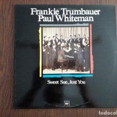 Discos de vinilo: DISCO VINILO LP, MAESTROS DEL JAZZ, FRANKIE TRUMBAUER-PAUL WHITEMAN. CBS LSP 982 332-1, AÑO 1989. Lote 202908993