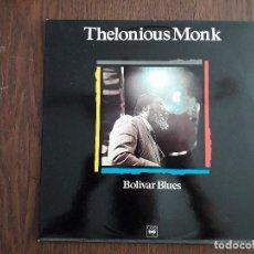 Discos de vinilo: DISCO VINILO LP, MAESTROS DEL JAZZ, THELONIOUS MONK, BOLIVER BLUES. CBS LSP 982 722-1, AÑO 1989. Lote 202909098