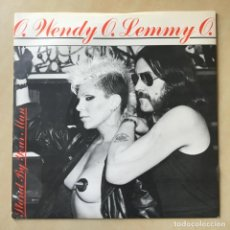 Discos de vinilo: WENDY & LEMMY – STAND BY YOUR MAN, UK 1982 BRONZE. Lote 202909248