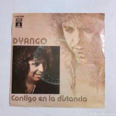 Discos de vinilo: DYANGO. CONTIGO EN LA DISTANCIA. ODEON C 006-21418. 1977. FUNDA VG+. DISCO VG+.. Lote 202914720