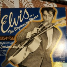 Discos de vinilo: ELVIS PRESLEY. THE BEGINNING YEARS.. Lote 202916651