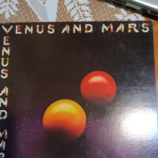 Discos de vinilo: WINGS. VENUS AND MARS. CONTIENE DOS POSTERS.. Lote 202917773