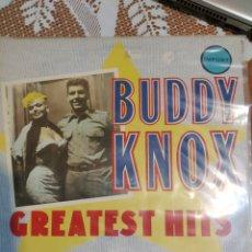Discos de vinilo: BUDDY KNOX GREATEST HITS. IMPORT.. Lote 202917915