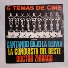 Discos de vinilo: 6 TEMAS DE CINE. DISCO REGALO. POLYDOR 28 80 109. 1980. FUNDA VG+. DISCO EX.. Lote 202935820