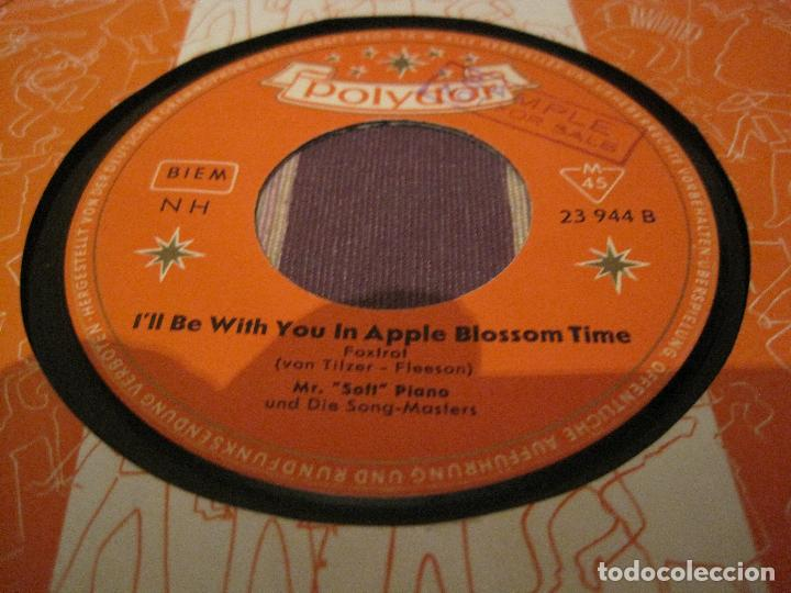 SINGLE MR. SOFT PIANO POLYDOR 23944 GERMANY 1959 JAZZ EASY LISTENING (Música - Discos - Singles Vinilo - Jazz, Jazz-Rock, Blues y R&B)