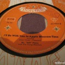 Discos de vinilo: SINGLE MR. SOFT PIANO POLYDOR 23944 GERMANY 1959 JAZZ EASY LISTENING. Lote 202936472