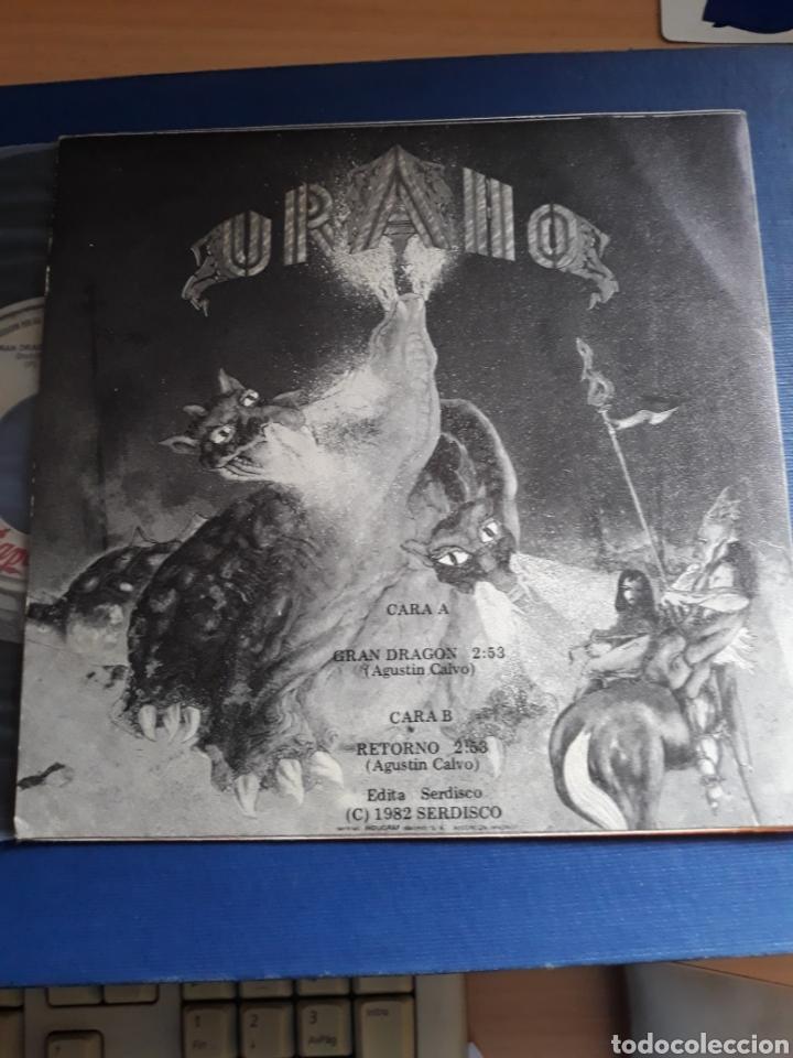 Discos de vinilo: URANO . Gran dragón-Retorno. CHAPA DISCOS. - Foto 2 - 202937710