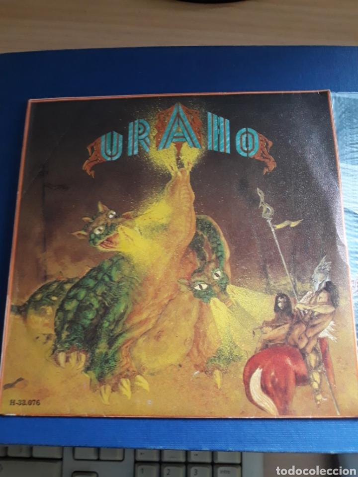 URANO . GRAN DRAGÓN-RETORNO. CHAPA DISCOS. (Música - Discos de Vinilo - EPs - Grupos Españoles de los 70 y 80)