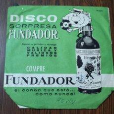 Discos de vinilo: EST9. D1. VINILO DE 45 RPM DISCO SORPRESA FUNDADOR. Lote 202940192