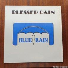 Discos de vinilo: LP - BLUE RAIN - BLESSED RAIN (US - BLUE RAIN RECORDS - 1987) RARE PRIVATE HARD ROCK USA. Lote 202941087