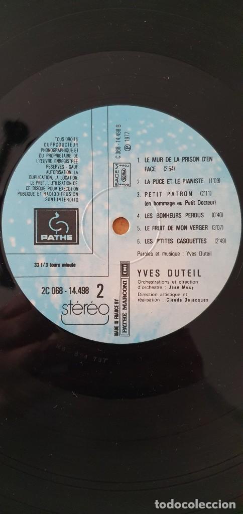 Discos de vinilo: Yves Duteil ?– Yves Duteil Sello: Pathé ?– 2C 068 14.498 Formato: Vinyl, LP, Album, Gatefold País: F - Foto 5 - 202946292