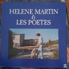 "Discos de vinilo: HELENE MARTIN & LES POETES ""EPONYME"" PL 37323 FRANCE ARTISTE / ARTIST : HELENE MARTIN TITRE / TITLE. Lote 202948701"