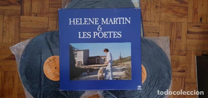 "Discos de vinilo: HELENE MARTIN & LES POETES ""Eponyme"" PL 37323 FRANCE ARTISTE / ARTIST : HELENE MARTIN TITRE / TITLE - Foto 2 - 202948701"