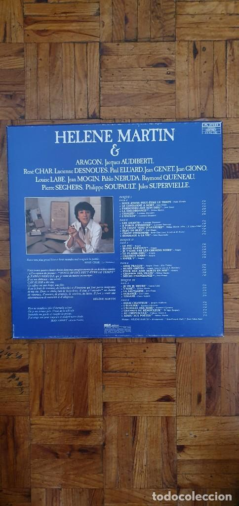 "Discos de vinilo: HELENE MARTIN & LES POETES ""Eponyme"" PL 37323 FRANCE ARTISTE / ARTIST : HELENE MARTIN TITRE / TITLE - Foto 5 - 202948701"