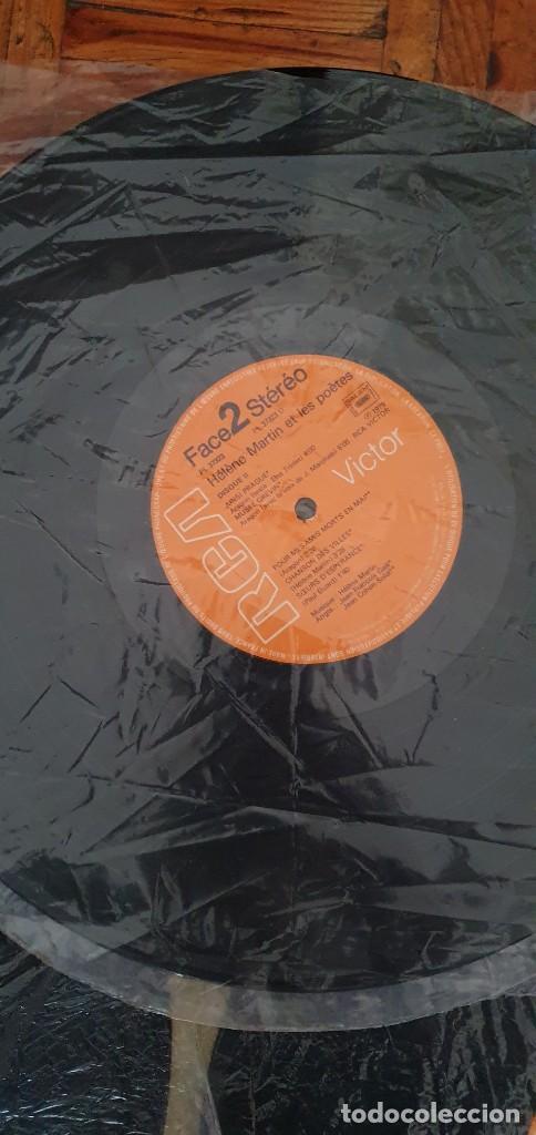 "Discos de vinilo: HELENE MARTIN & LES POETES ""Eponyme"" PL 37323 FRANCE ARTISTE / ARTIST : HELENE MARTIN TITRE / TITLE - Foto 9 - 202948701"
