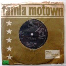 Discos de vinilo: STEVIE WONDER - I DON'T KNOW WHY / MY CHERIE AMOUR - SINGLE TAMLA MOTOWN 1969 UK BPY. Lote 202950290