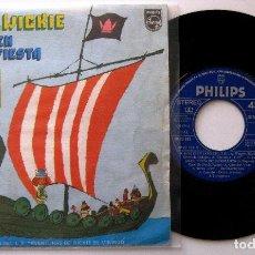 Discos de vinilo: VICKIE EL VIKINGO - HEI, HEI, WICKIE - SINGLE PHILIPS 1975 BPY. Lote 202951931