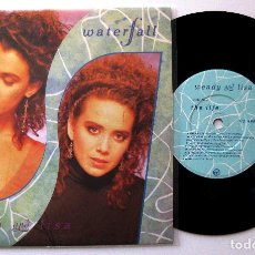 Discos de vinilo: WENDY AND LISA (PRINCE & THE REVOLUTION) - WATERFALL / THE LIFE - SINGLE VIRGIN 1987 UK BPY. Lote 202953802