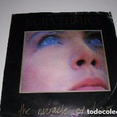 Discos de vinilo: EURYTHMICS ( THE MIRACLE OF LOVE - WHEN TOMORROW COMES ) 1986 SINGLE 45. Lote 202955421