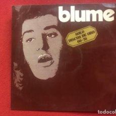 Disques de vinyle: BLUME SOLO DISCOS DE ORO 1973. Lote 202962443