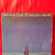 Discos de vinilo: 20 GOLDEN GREATS. NAT KING COLE .LP. Lote 202967470