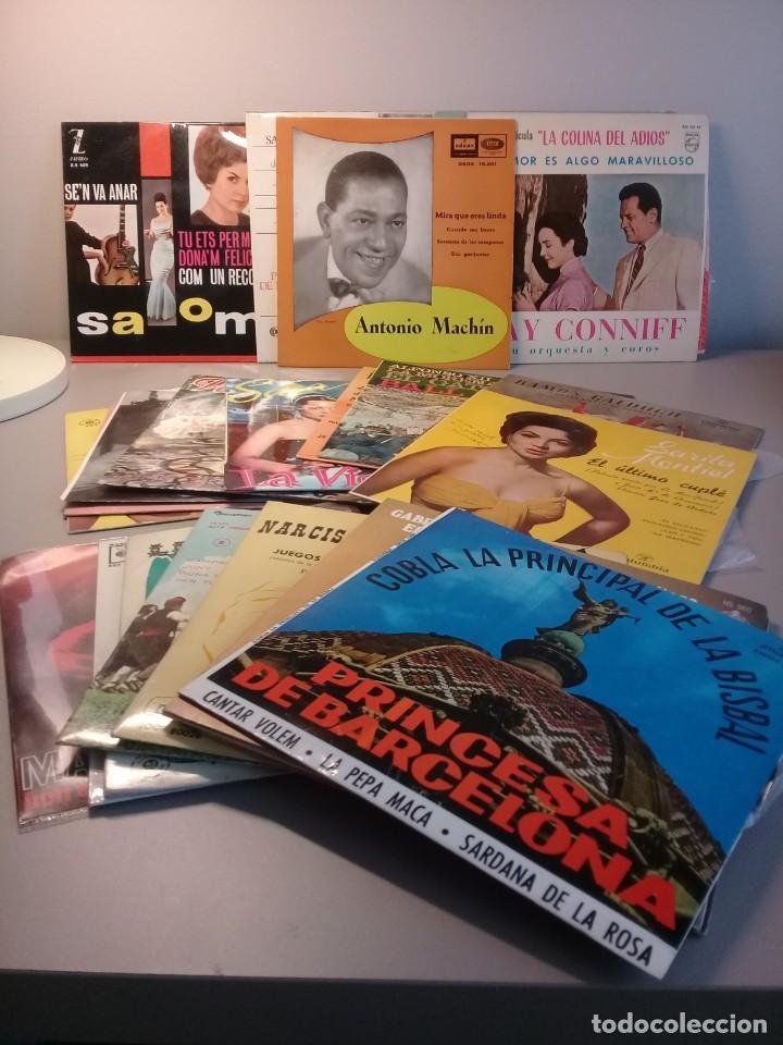 Discos de vinilo: Lote de 24 discos vinilos singles - Foto 2 - 202970636