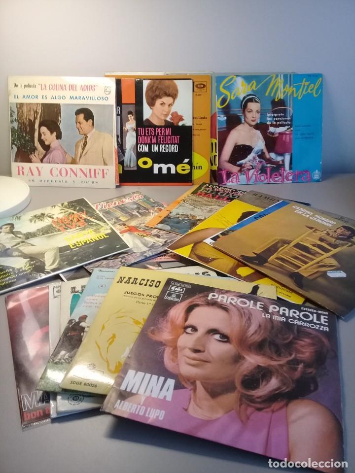 Discos de vinilo: Lote de 24 discos vinilos singles - Foto 3 - 202970636