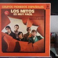 Discos de vinilo: *** LOS MITOS - ES MUY FÁCIL (GRUPOS PIONEROS ESPAÑOLES - LP AÑO 1983 - LEER DESCRIPCIÓN. Lote 202982921