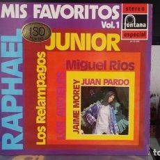 Discos de vinilo: *** MIS FAVORITOS VOL1 (VERSIONES Y ARTISTAS ORIGINALES) - LP AÑO 1970 - LEER DESCRIPCIÓN. Lote 202984032