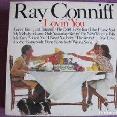Dischi in vinile: LP - RAY CONNIFF - LOVIN' YOU (SPAIN, CBS 1972). Lote 202986486