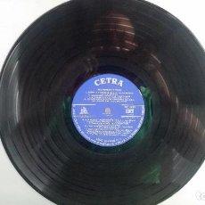 Discos de vinilo: *** RECORDANDO A ITALIA - VERSIONES Y ARTISTAS ORIGINALES - LP 1961 (SOLO DISCO) - LEER DESCRIPCIÓN. Lote 202987036