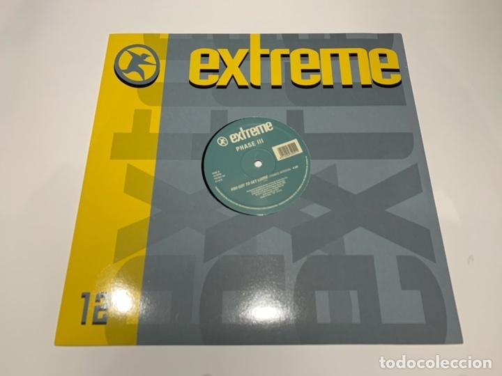 PHASE III ?– YOU GOT TO GET LOOSE 1994 (Música - Discos de Vinilo - EPs - Techno, Trance y House)