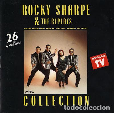 ROCKY SHARPE & THE REPLAYS _? COLLECTION (Música - Discos de Vinilo - Maxi Singles - Rock & Roll)