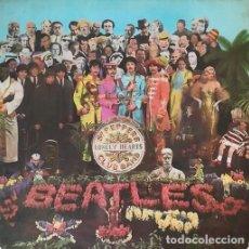 Discos de vinilo: BEATLES - SGT. PEPPER'S LONELY ' SPANISH LP 1ST 1967 ' MOLF 9000 ODEON MONO #. Lote 203018148