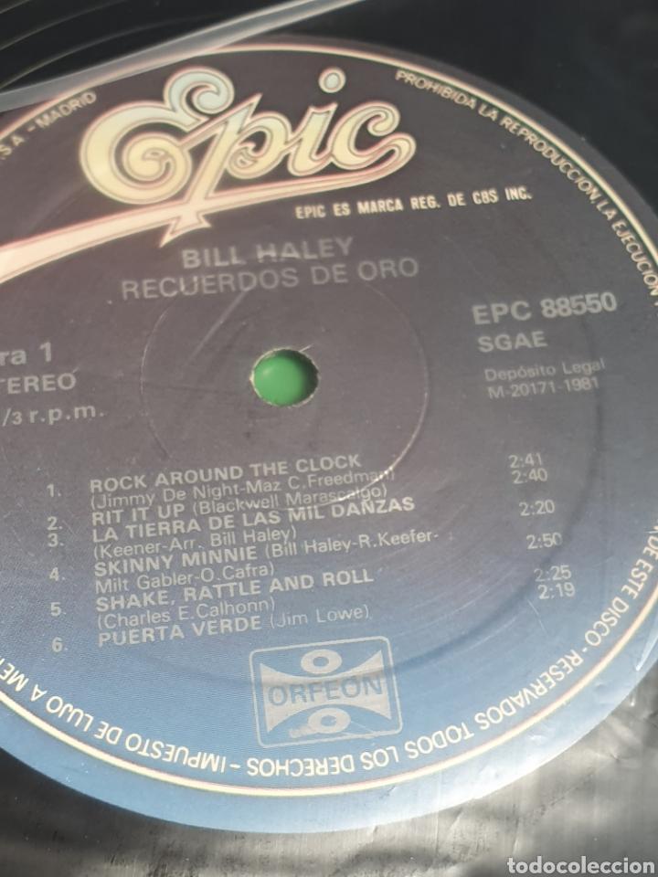Discos de vinilo: Bill Haley ?– Recuerdos De Oro, Epic ?– EPC 88550, Orfeon, 2 vinilos. - Foto 5 - 203020363