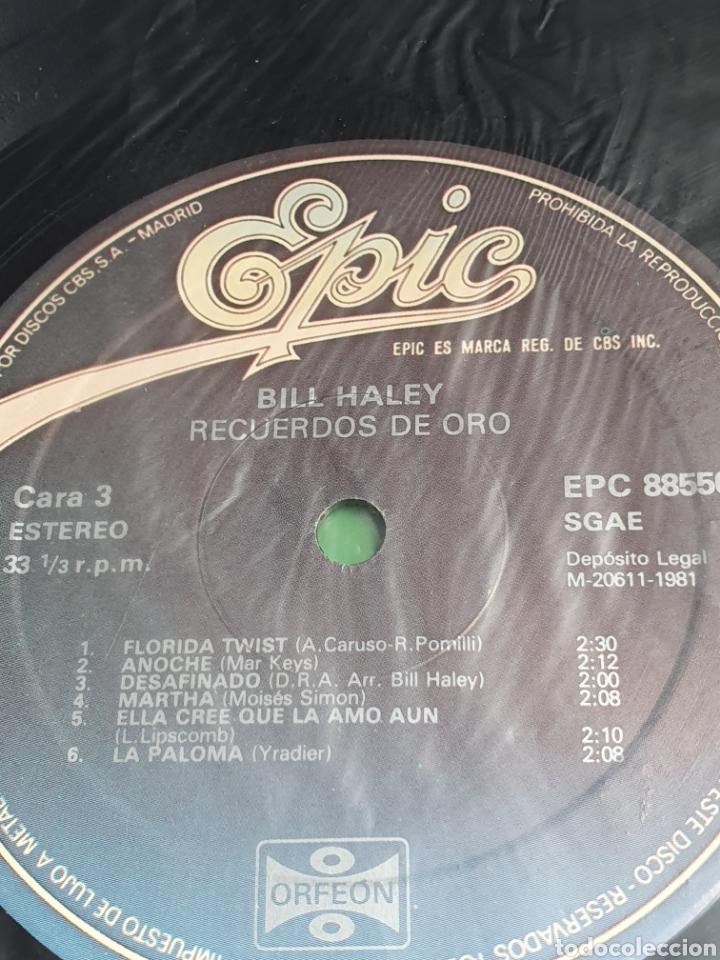 Discos de vinilo: Bill Haley ?– Recuerdos De Oro, Epic ?– EPC 88550, Orfeon, 2 vinilos. - Foto 6 - 203020363