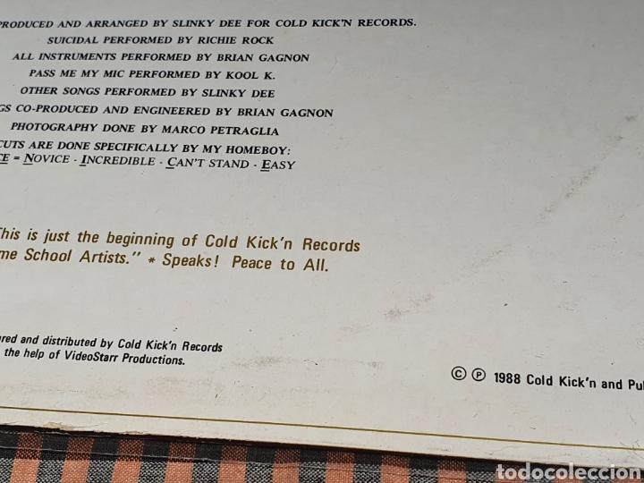Discos de vinilo: Slinky Dee ?– King Creo, Cold Kickn Records ?– CKR-001, 1988, canada. - Foto 4 - 203022202