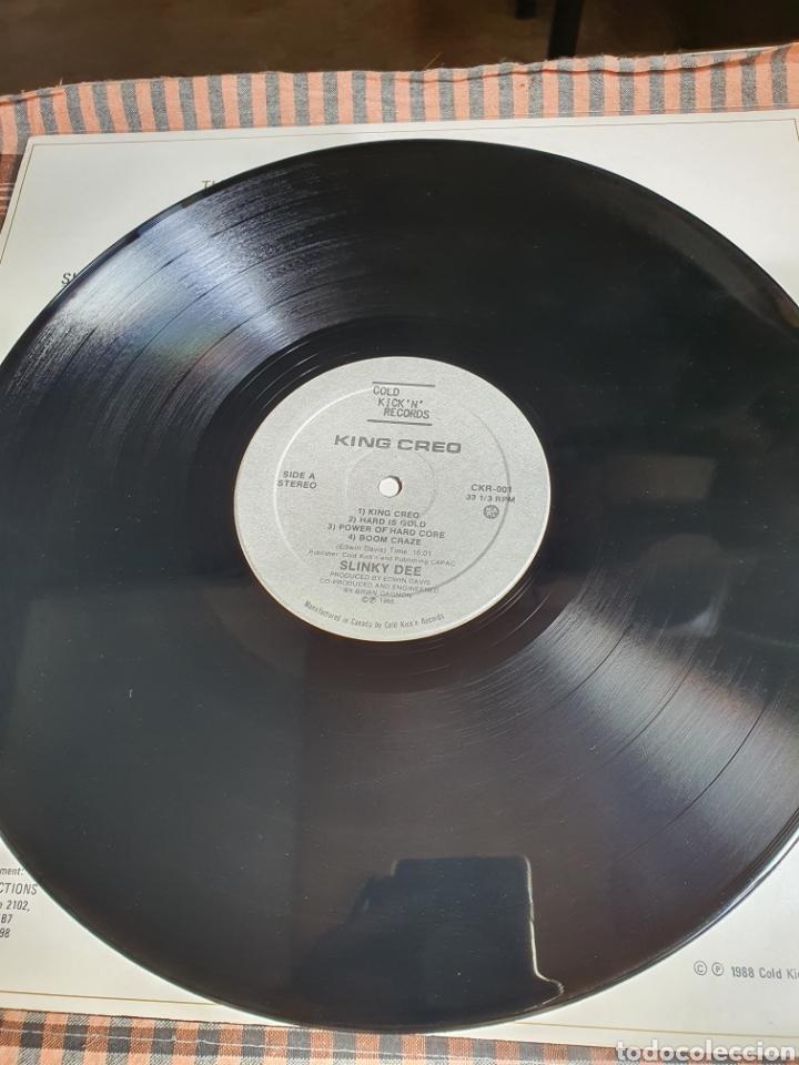 Discos de vinilo: Slinky Dee ?– King Creo, Cold Kickn Records ?– CKR-001, 1988, canada. - Foto 5 - 203022202