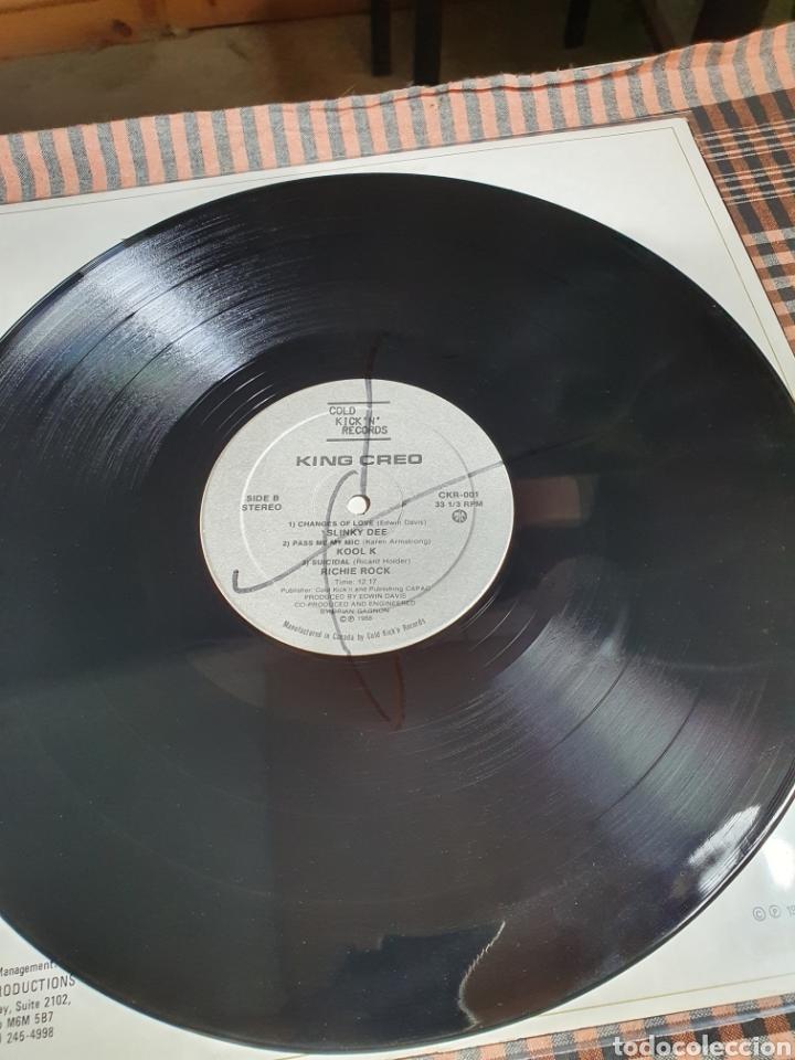 Discos de vinilo: Slinky Dee ?– King Creo, Cold Kickn Records ?– CKR-001, 1988, canada. - Foto 6 - 203022202