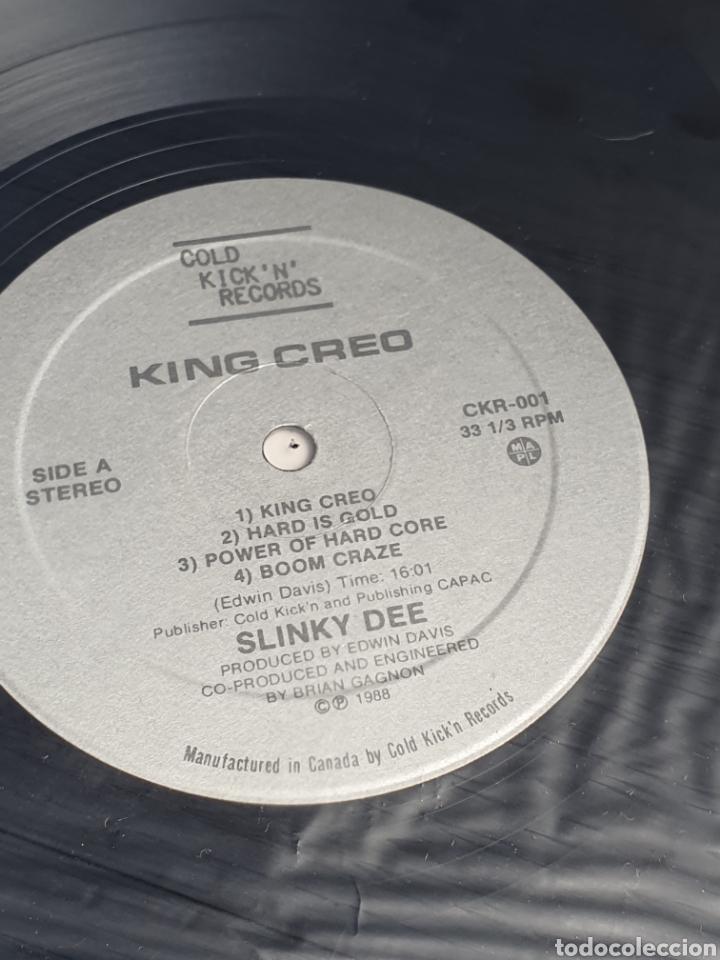 Discos de vinilo: Slinky Dee ?– King Creo, Cold Kickn Records ?– CKR-001, 1988, canada. - Foto 7 - 203022202