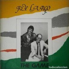 Discos de vinilo: KEY LARGO, THE GAME, MAXI-SINGLE SPAIN 1986. Lote 203029108