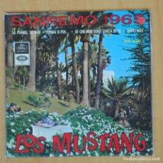 Discos de vinilo: LOS MUSTANG - SAN REMO 1965 - EP. Lote 203030780